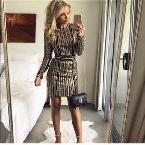 Dresses & Skirts - Gold dress Never worn